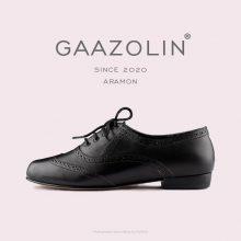 کفش هشترک گازولین آرامون مشکی - GAAZOLIN Aramon brogue BLK