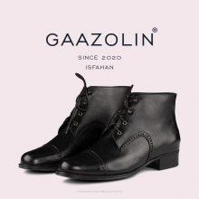بوت گازولین مشکی مدل اصفهان - GAAZOLIN Isfahan BLK