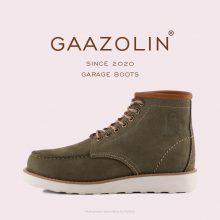 گاراژ بوت گازولین ارتشی - GAAZOLIN Garage Boots Army Green