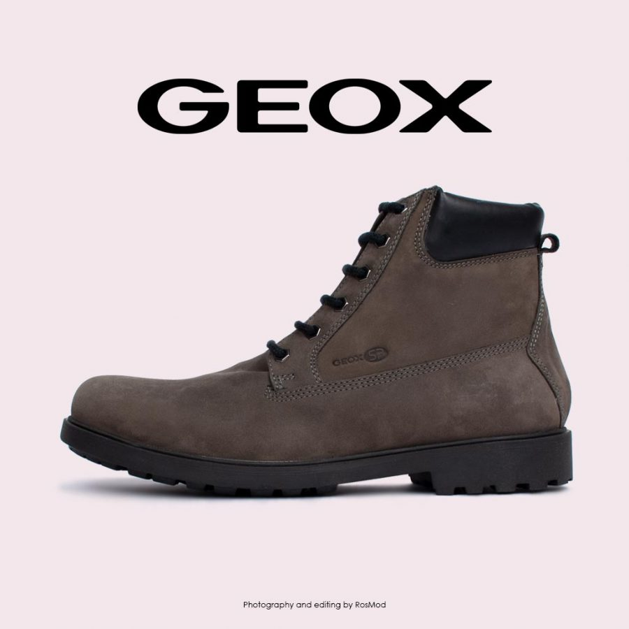 بوت – Geox Hiking Boots Rhadalf DK Grey