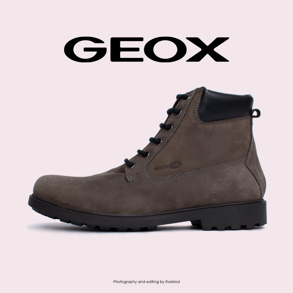 چکمه - Geox Hiking Boots Rhadalf DK Grey
