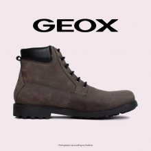 بوت - Geox Hiking Boots Rhadalf DK Grey