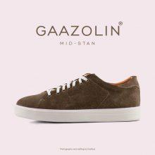 کتانی گازولین مید-استن زیتونی جیر - GAAZOLIN MID-Stan Olive