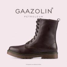 بوت پترولیوم گازولین شکلاتی - GAAZOLIN Petroleum Boots Dark Chocolate