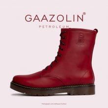 بوت پترولیوم گازولین سرخابی - GAAZOLIN Petroleum Boots Solid Pink