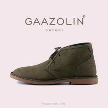 کفش صحرایی سافاری گازولین - GAAZOLIN Safari Veldskoen Shoes Gold Fusion