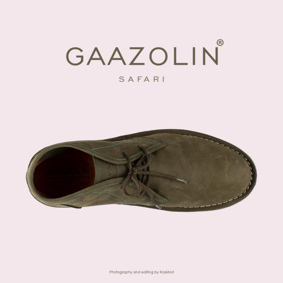 کفش صحرایی سافاری گازولین – GAAZOLIN Safari Veldskoen Shoes Gold Fusion