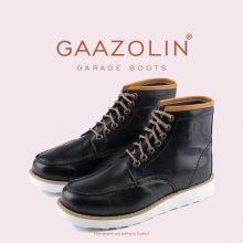 بوت گاراژ گازولین مشکی - GAAZOLIN Garage Boots BLK