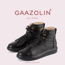 کتانی ساقدار دی جی گازولین تمام مشکی - GAAZOLIN High DJ Full Blk Sneakers