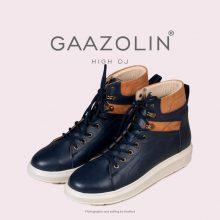 کتانی ساقدار دی جی گازولین سرمه ای - GAAZOLIN High DJ NVY Sneakers