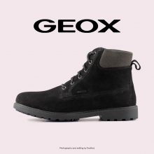بوت - Geox Hiking Boots Norwolk Black