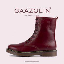 بوت پترولیوم گازولین زرشکی - GAAZOLIN Petroleum Boots Cherry Lady