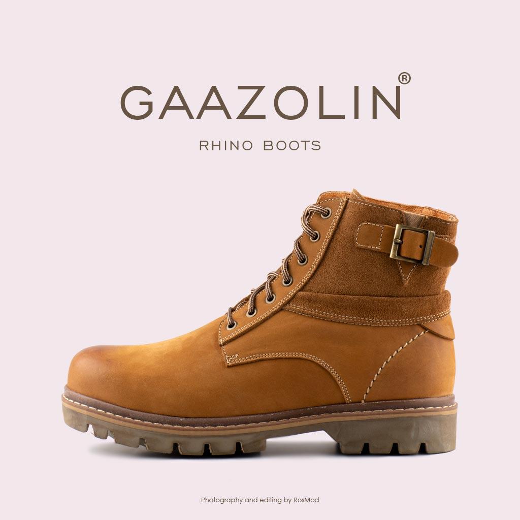 بوت راینو گازولین شتری Boots Clove-dyed