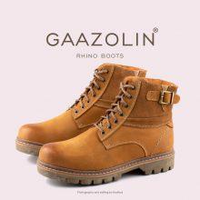 بوت راینو گازولین شتری - GAAZOLIN Rhino Boots Clove-dyed