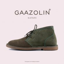 کفش صحرایی سافاری گازولین - GAAZOLIN Safari Veldskoen Shoes Gold Fusion/Green Tea