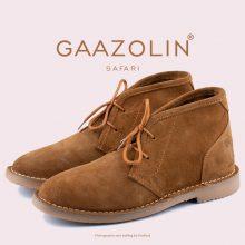 کفش صحرایی سافاری گازولین شتری - GAAZOLIN Safari Veldskoen Shoes Saraban