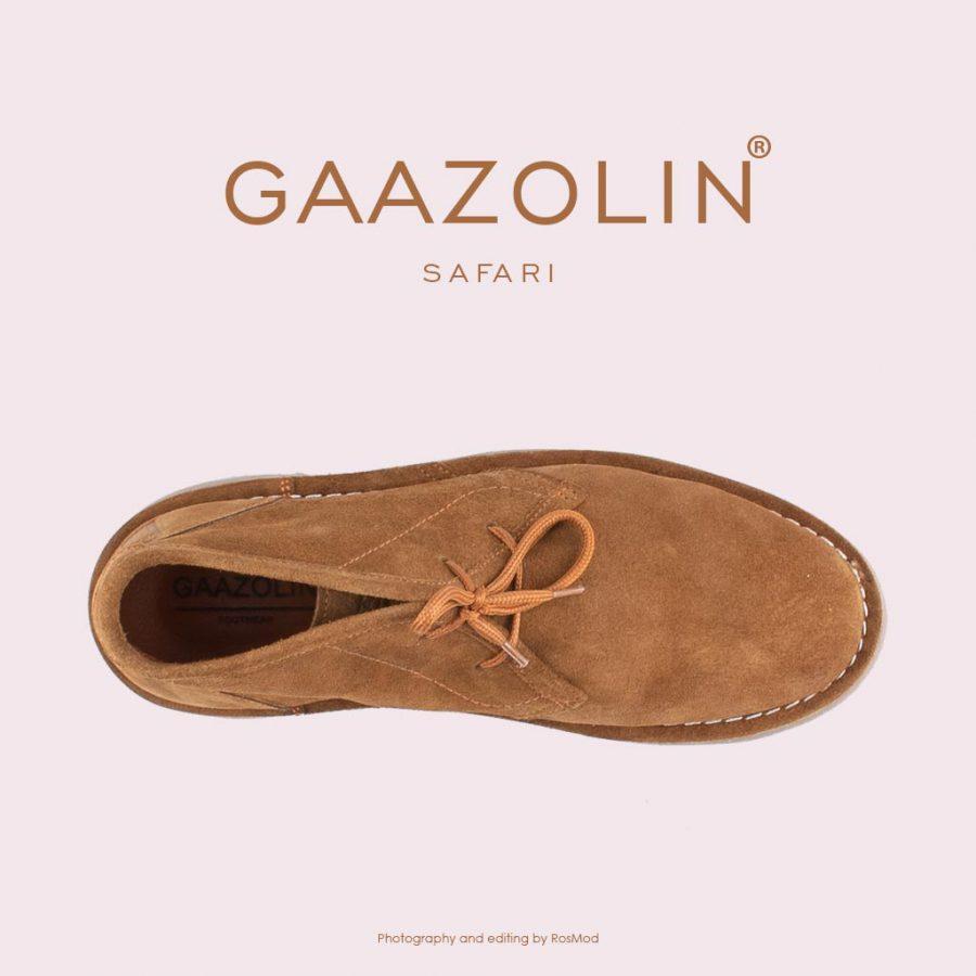 کفش صحرایی سافاری گازولین شتری – GAAZOLIN Safari Veldskoen Shoes Saraban