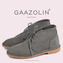 کفش صحرایی سافاری گازولین دودی - GAAZOLIN Safari Veldskoen Shoes Smoked Pearl