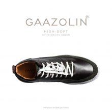 کتانی ساقدار گازولین های-سافت زیتونی/شکلاتی - GAAZOLIN High Soft Olive/Brown