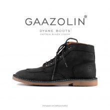 بوت ژیان گازولین زغالی - GAAZOLIN Dyane Boots Captain Black
