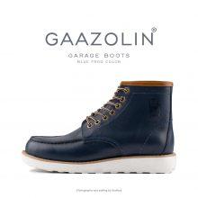 بوت گاراژ گازولین سرمه ای - GAAZOLIN Garage Boots Blue Frog