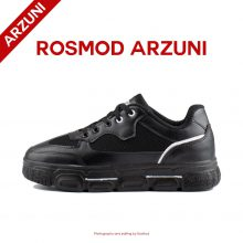 کفش راحتی جینتو مشکی خط سفید - Jintu Black White