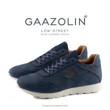 کتانی بدون ساق استریت گازولین کربن آبی - GAAZOLIN Low Street Blue Cabon