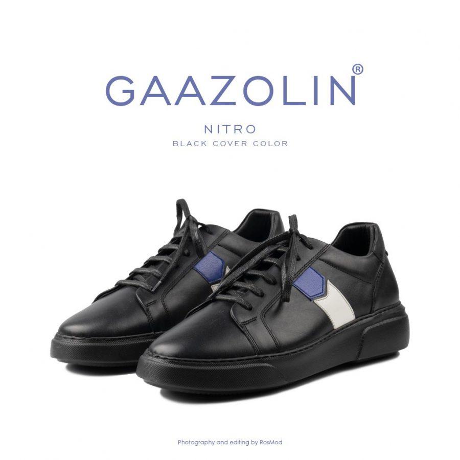 کتانی نیتروژن گازولین مشکی – GAAZOLIN Nitro Black Cover