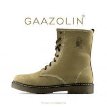 بوت پترولیوم گازولین زیتونی روشن شاین - GAAZOLIN Petroleum Boots Benzo Light