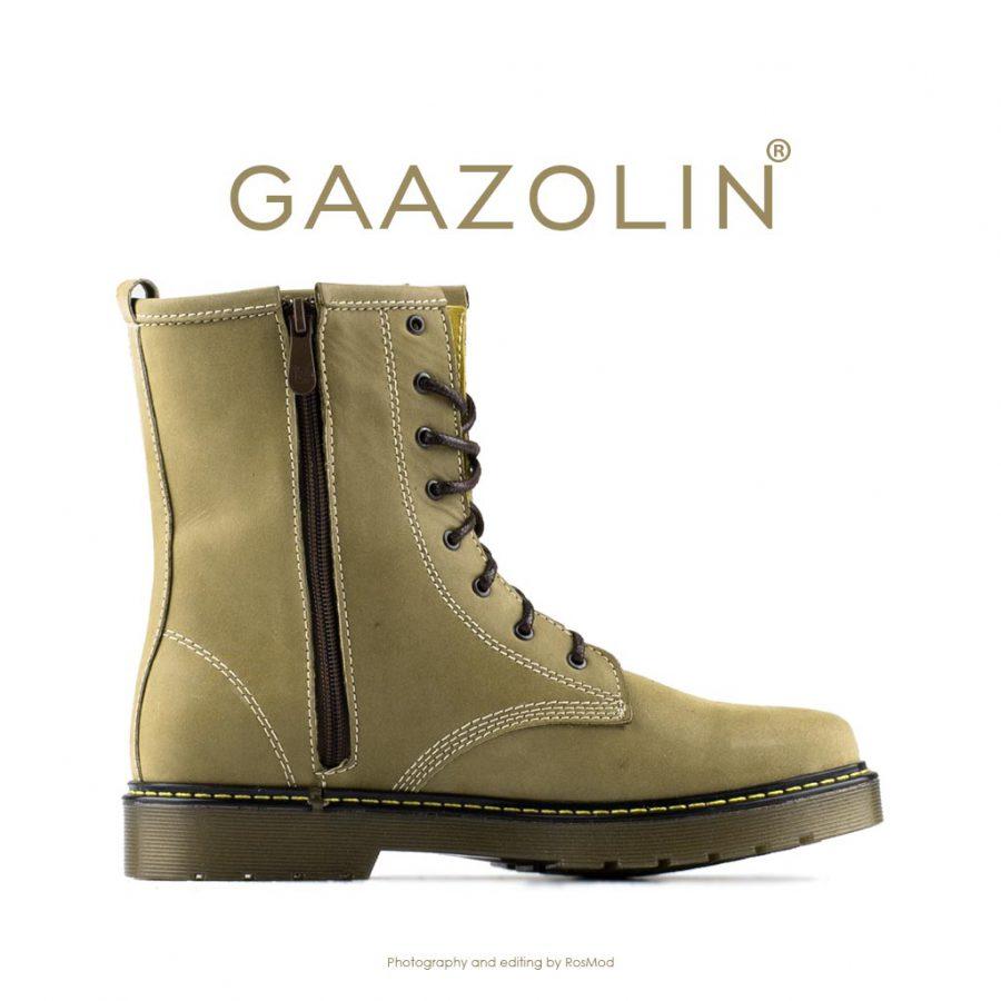 بوت پترولیوم گازولین زیتونی روشن شاین – GAAZOLIN Petroleum Boots Benzo Light