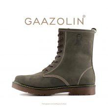 بوت پترولیوم گازولین زیتونی - GAAZOLIN Petroleum Boots Olive Land