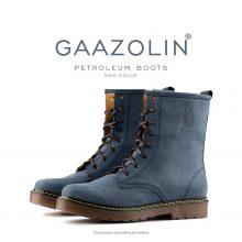 بوت پترولیوم گازولین آبی شاین - GAAZOLIN Petroleum Boots R&B