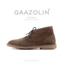 کفش صحرایی سافاری گازولین گلی - GAAZOLIN Safari Veldskoen Shoes After Rain