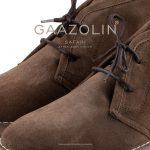 کفش صحرایی سافاری گازولین گلی – GAAZOLIN Safari Veldskoen Shoes After Rain