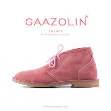 کفش صحرایی سافاری گازولین صورتی چرک - GAAZOLIN Safari Veldskoen Shoes Pink Panther
