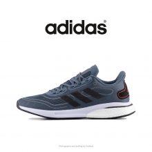 رانینگ مردانه سوپرنوا آدیداس آبی/طوسی - Adidas Supernova Boost Running Shoes