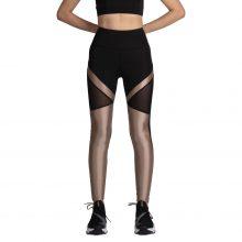 لگ اسلیم ورزشی مشکی/طلایی - Agi Slimming Sportive Leggings Siyah/Altın