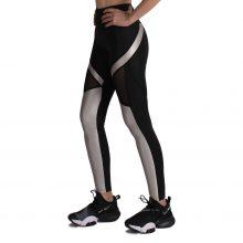 لگ اسلیم ورزشی مشکی/نقره ای - Agi Slimming Sportive Leggings Siyah/Gümüş