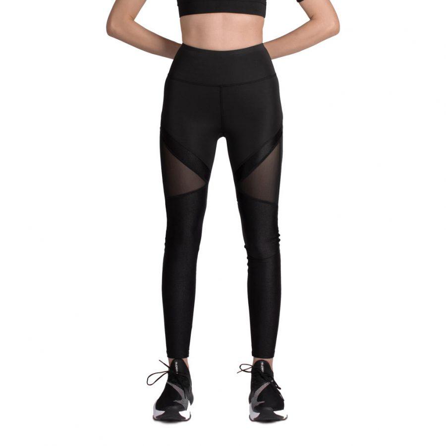 لگ اسلیم ورزشی مشکی/مشکی – Agi Slimming Sportive Leggings Siyah/Siyah