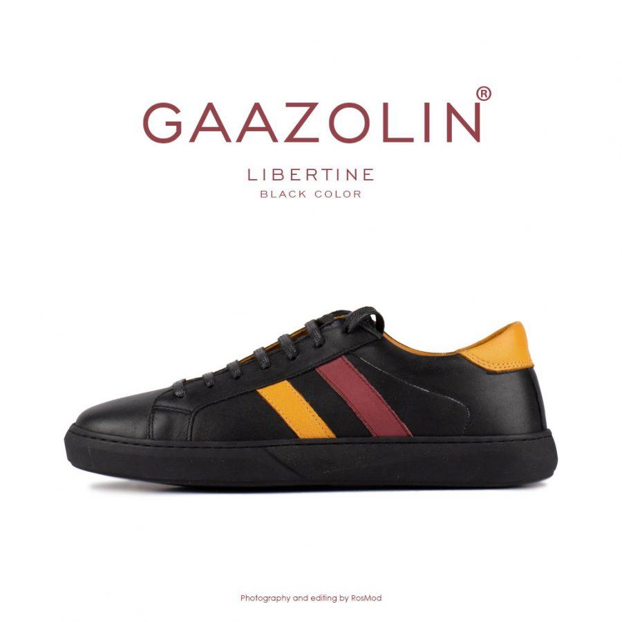 کتانی لیبرتین گازولین مشکی – GAAZOLIN Libertine Sneakers Black Color