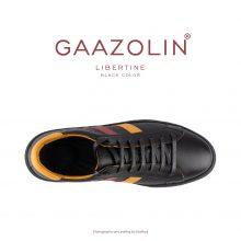 کتانی لیبرتین گازولین مشکی - GAAZOLIN Libertine Sneakers Black Color