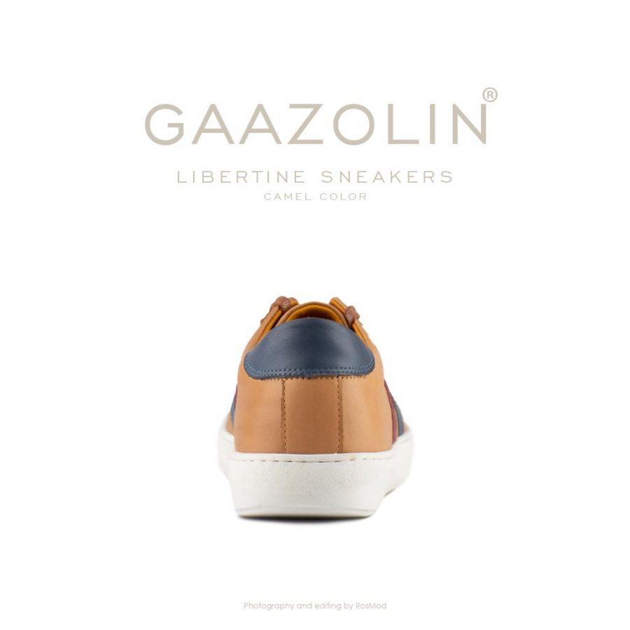کتانی لیبرتین گازولین شتری – GAAZOLIN Libertine Sneakers Camel Color