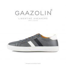 کتانی لیبرتین گازولین طوسی - GAAZOLIN Libertine Sneakers Grey Color