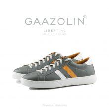 کتانی لیبرتین گازولین طوسی روشن - GAAZOLIN Libertine Sneakers Light Grey Color