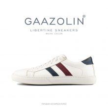 کتانی لیبرتین گازولین سفید - GAAZOLIN Libertine Sneakers White Color