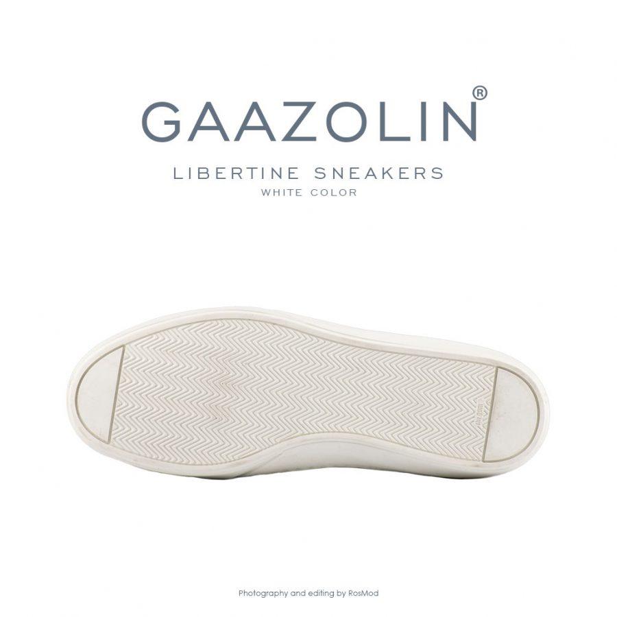 کتانی لیبرتین گازولین سفید – GAAZOLIN Libertine Sneakers White Color