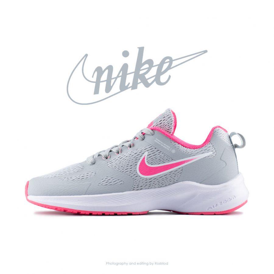 کتانی ورزشی زنانه نایکی طوسی – Nike Zoom Pegasus Grey/Pink