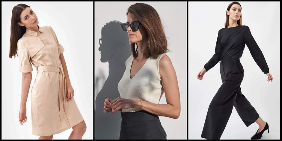 برند میلا.وِرت لباسهایی فرازمانی، مینیمال و شیک ارائه میدهد.