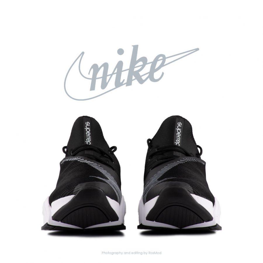 کتانی پیاده روی زنانه نایکی سوپراپ مشکی – Nike Air Zoom Superrep Black White
