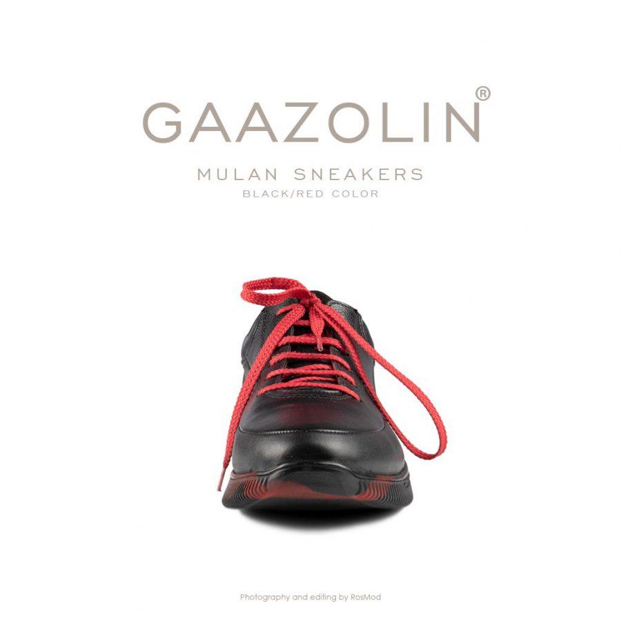 کتانی مولان گازولین مشکی/قرمز – GAAZOLIN Mulan Black/Red Color